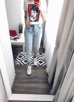 Акція!!!трендові джинси мом новинка 2019