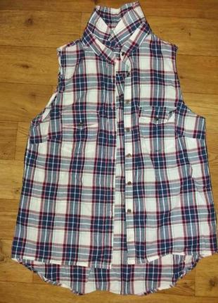 Рубашка летняя легкая котон