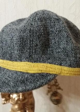 Фактурная кепка jasper conran  распродажа