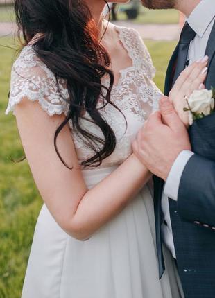 Нереально нежное свадебное платье