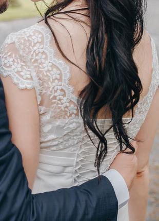 Нереально нежное свадебное платье2 фото