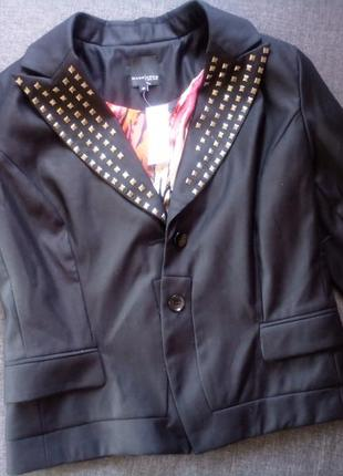 Женский пиджак черный mark adam