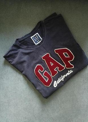 Мужская базовая футболка gap. с-м