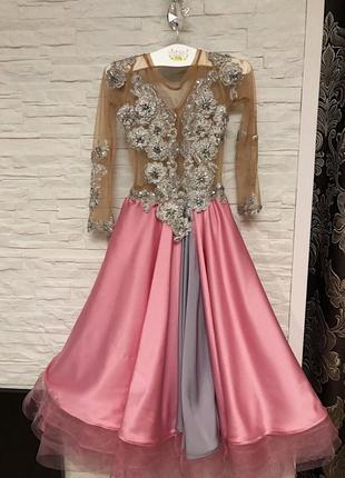 Бальное платье , для танцев { стандарт }