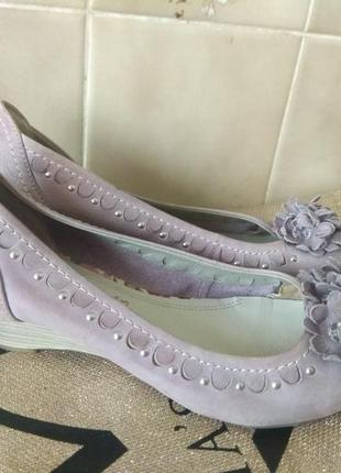 Кожаные туфли 36 размер италия