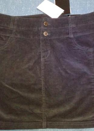 Классная новая вельветовая юбка, 16