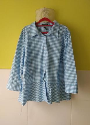 4dc8971d056 Крутая рубашка с рюшами от ralph lauren оригинал