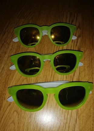 Очки солнечные яркие стильные с зеркальным стеклом