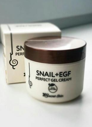 Крем для лица secret skin snail + egf perfect gel cream