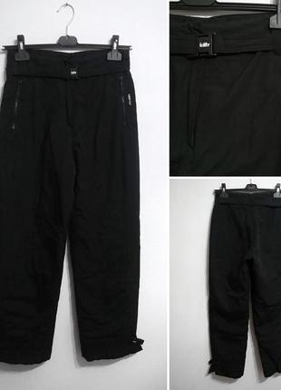 Чёрные лыжные штаны премиум killy м-l (франция)