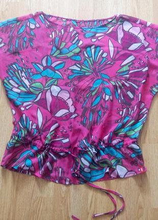 Летняя  брендовая шифоновая блуза,футболка