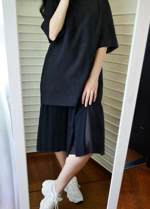 Стильное платье cos с плисированным низом