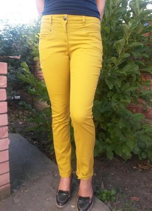Классные горчичные штаны