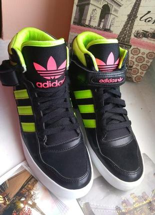 42eab9db Кеды высокие adidas 38 39 р 24 см кроссовки адидас сникерсы с липучкой