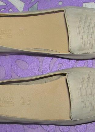Туфли-мокасины из нубука