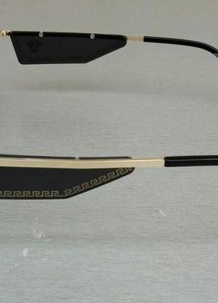 Versace очки женские солнцезащитные узкие с градиентом3 фото
