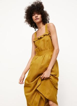 Zara платье , s,m, l6 фото