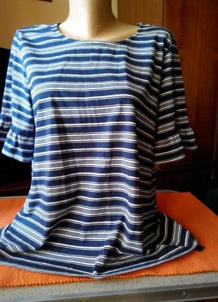 Трикотажная блуза tcm tchibo германия евро 424 фото