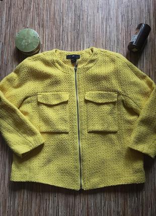Пиджак на короткий рукав.