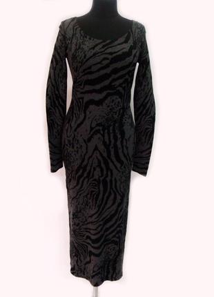 Обтягивающее платье с u-образным декольте victoria's secret