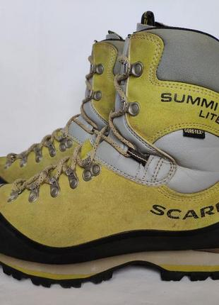 Ботинки scarpa summit lite gtx. размер 39.5