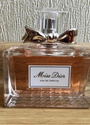 Оригинальный парфюм miss dior 100 ml