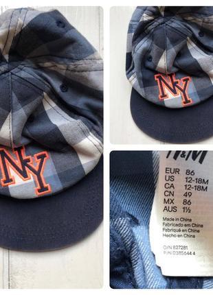 H&m детская кепка бейсболка 86 12-18 месяцев