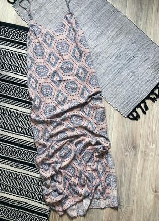 Платье/сарафан макси с разрезами по бокам new look