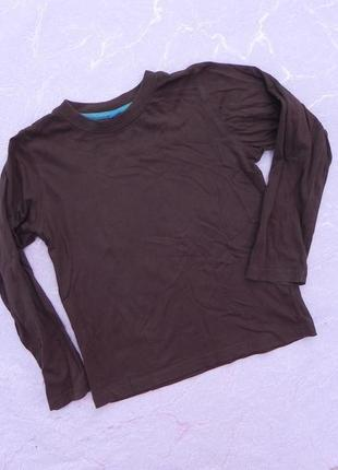 Кофта футболка с длинными рукавами лонгслив tu 6лет 116см1 фото