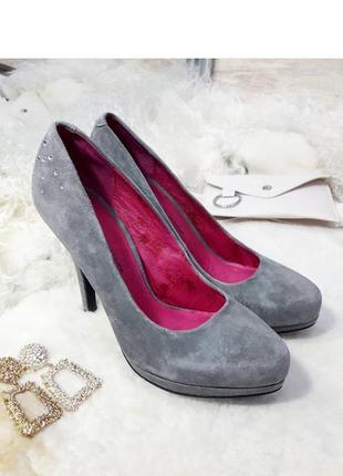 Туфлі з натур. замші ladystar by daniela katzenberger