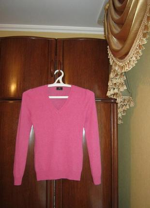 Пуловер f&f, 100% натуральный кашемир, размер s