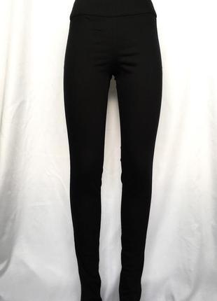 Крутые джинсы скини с молнией сзади (на попе), высокая посадка талия pieces