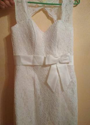 Платье свадебное/ выпускное