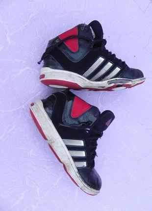 Ботинки кроссовки adidas 34 размер 21см стелька
