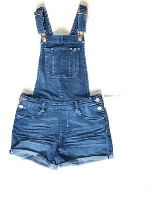 Комбинезон женский джинсовый нм hm h&m комбез летний стильный