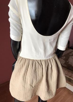 Платье шелк,с открытой спинкой,  размер s-m