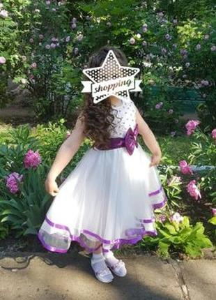 Нарядное платье на выпуск в садик