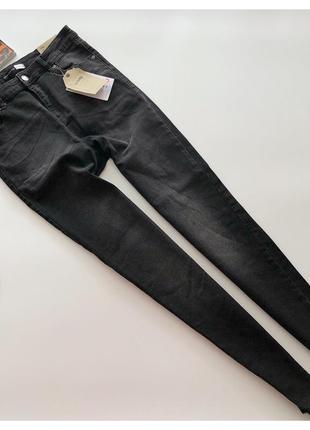 Новые джинсы скинни на высокой талии sinsay рр л