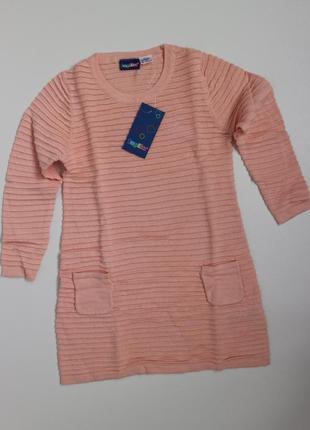 Трикотажное платье на девочку lupilu, 98/104, 2-4 года