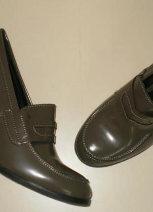 Кожаные туфли andre (андре) 37р.