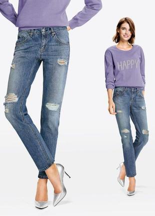 Модные джинсы бойфренды esmara германия