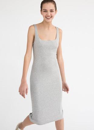 Базовое платье-миди