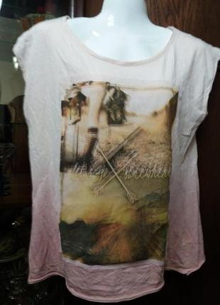 Градуированая футболка-л       распродажа