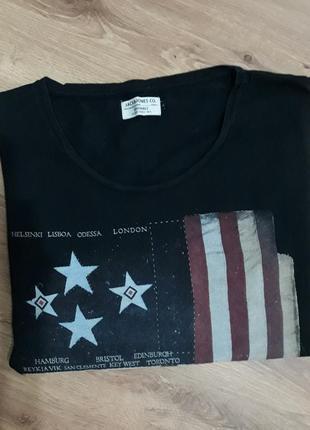 Классная футболка с принтом jack&jones