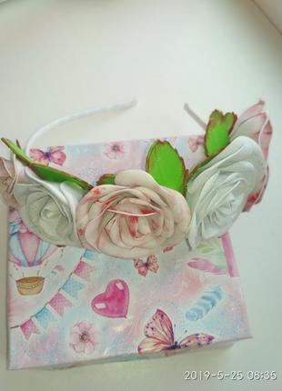 Обруч розы