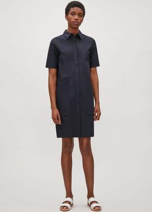 Платье-рубашка cos- размер 34eur