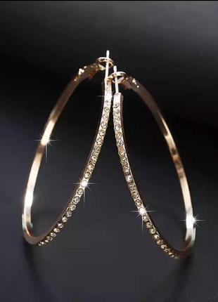 Серьги кольца сережки золото камни