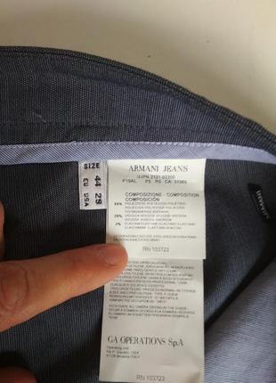 Штаны брюки armani7 фото