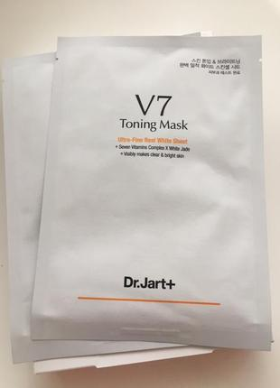 Dr. jart v 7 toning mask маска тонизирующая омолаживающая