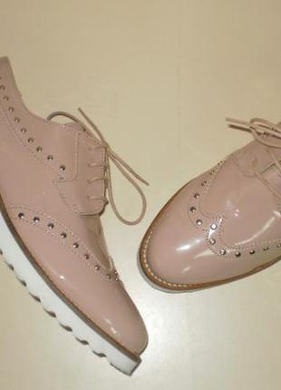 Туфли броки оксфорды  от французского бренда andre (андре)